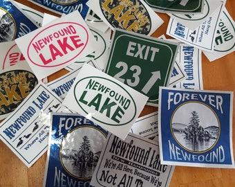 Newfound Lake Window/Bumper Sticker New Hampshire