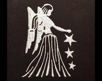 """Embroidery File """"Star Sign Virgo"""""""