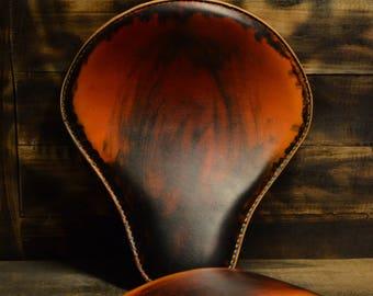 Handmade Bobber seat + pillion seat Crazy boom V2