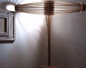 Floor lamp, Unique Design Lamp, Handmade, Wooden Gift