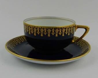Demitasse Mocha Cup & Saucer Set Rosenthal 1927-1928