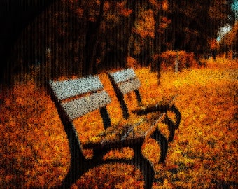 Autumn Photography Textured Background Instant Download