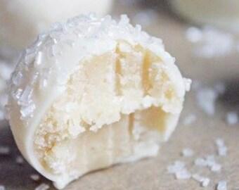 Sugar Cookie Truffles/Cake Truffles/White Chocolate Truffles/Candy Truffles/Candy/Cake/Cookies/Sugar Cookies/Candy Gifts/Wedding Truffles