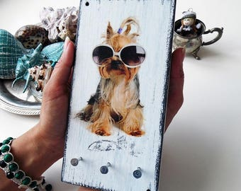 Key Holder for wall - Dog