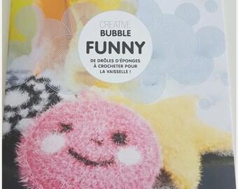 Book Creative sponges to crochet - Bubble Theme Funny - 21 x 24 cm