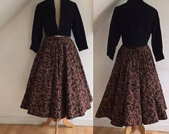 1950s full swing skirt