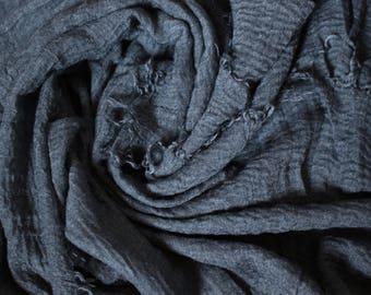 HIJAB Scarf —  INK WASH Premium Cotton
