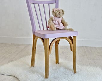 Pink little child Bistro Chair