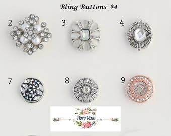 Bling buttons