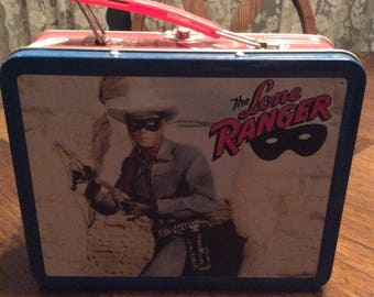 Vintage LONE RANGER Lunch box / collector item