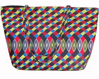 Handmade African Bag / African Bag / Tote Bag / Market Bag / Bags and Purses / Shoulder Bag