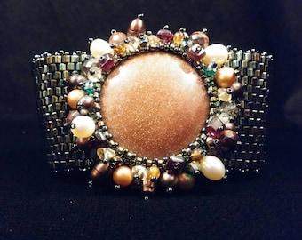 Sunburst Cuff Bracelet,