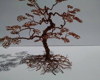 Copper Bonsai tree