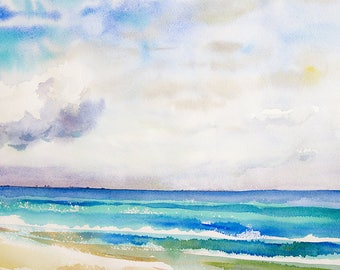 Landscape Original Watercolour Painting Q167
