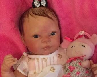"Reborn Newborn Baby Girl ""Charlotte"" A little Princess"