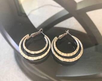 Classic Double-Hoop Earrings