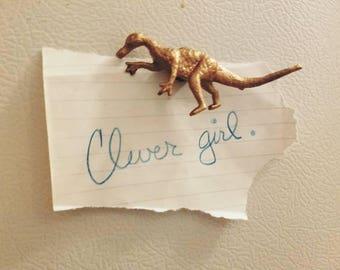 Dinosaur magnets!