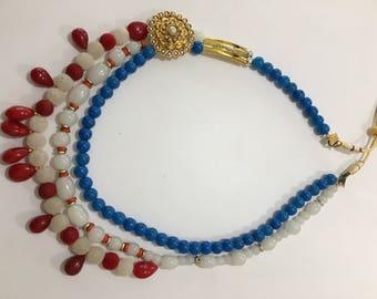 Patriotic necklace