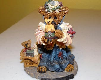 Boyds Bears, Bearstone Collection, Style #227707 The Collector