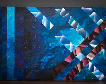 Juncture - GICLEE Canvas Print