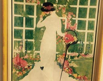Vintage Vogue Magazine Prints; Custom Frames Made To Order!