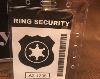 Ring Security Badge for Ring Bearer