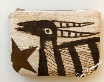 Korhogo cloth pouch