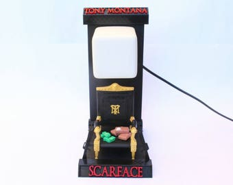 Lámpara Led SCARFACE TONY MONTANA Led Lamp