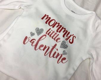 Mommy's Little Valentine Onesie