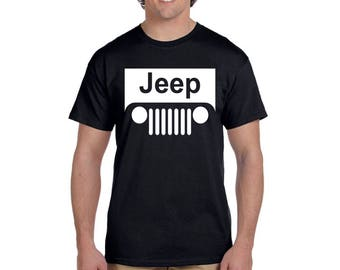 Jeep T Shirt American Legend Motocross Off road Wrangler JDM Tees