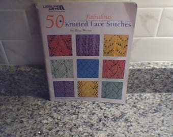 50 Knitted Lace Stitches