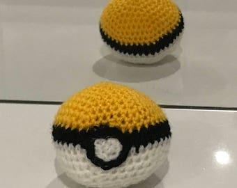 Pokemon Crochet Pokeball Soft Toy