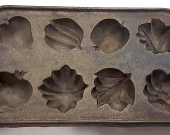 JOHN WRIGHT 1890's Original Autumn Harvest mold.