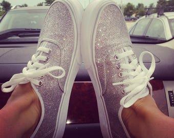 Glitter Vans, Custom