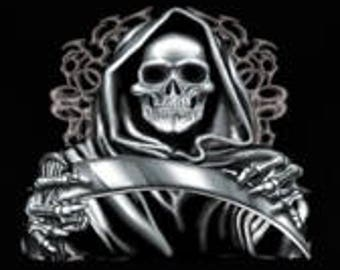Grim Reaper Skulls Halloween New Various Sizes and Colors Available