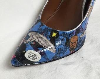 Custom Comic Book Shoes