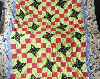 Insane About Dogs Quilt Top
