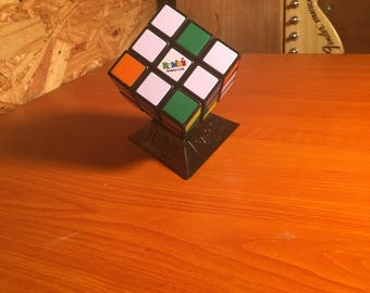 Rubix Cube With Stand