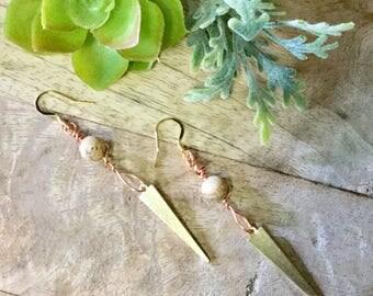 Spike Dangle Earrings