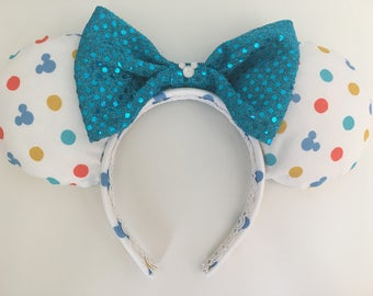 Mickey Mouse inspired Mickey/Minnie/Mouse Ears