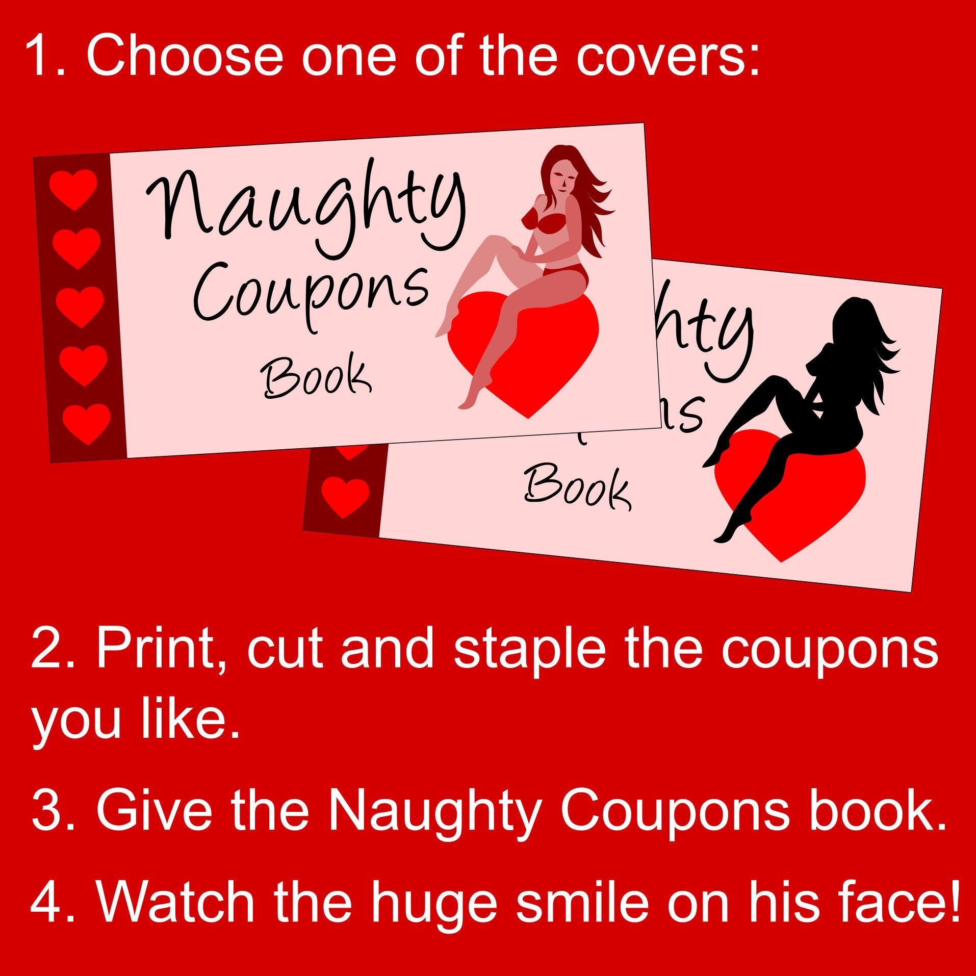free printable naughty sex coupon books