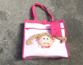 Cabbage patch kids mattel 1983 bag- Mattel- Cabbage patch