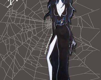 Mistress of The Dark Print