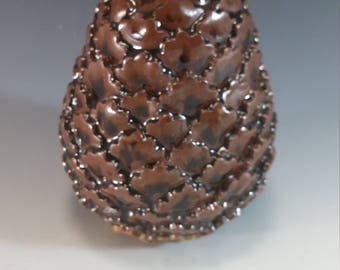 Brown gas fired Dragon Egg