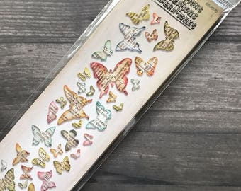 Tim Holtz Alterations Multiple Butterfly Diecut