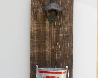 Catch of the Day bottle opener (wall mount)