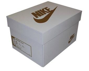 Sneakerbox shoebox shoe box according to your design