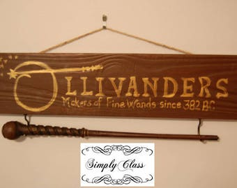 Harry Potter Ollivanders Wizard Wand Holder