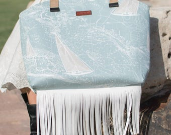 Fringed Sailboat Zoe Bag