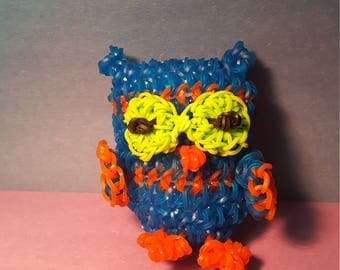 Owl rubber bands